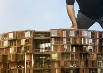 Tor Nørretranders skaber anderledes arkitekturudstilling