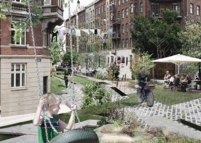 Unge arkitekter kommer med visionære forslag til gamle arbejdskvarterer