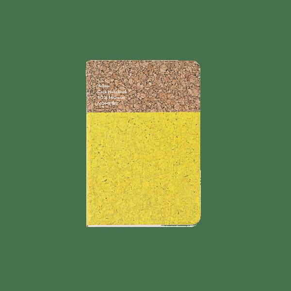 Nomess Cork Notebook Small Yellow