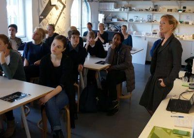 Elever til arkitektur kursus