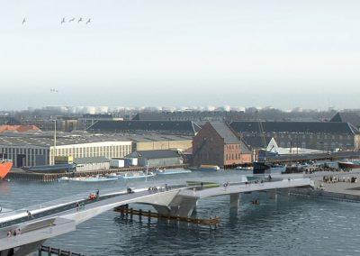 udsigt over havnen