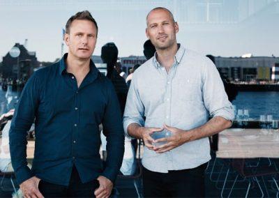 to mænd der bidrager til arkitekturbiennalen 2016