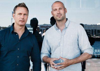 to mænd til arkitektur biennale