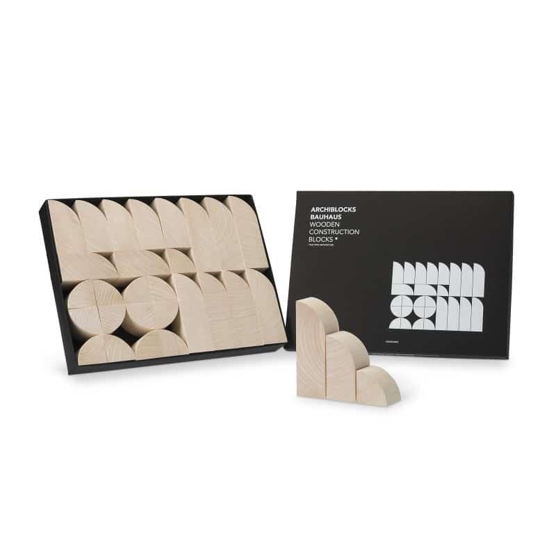 Cinqpoints – Archiblocks Bauhaus wooden construct