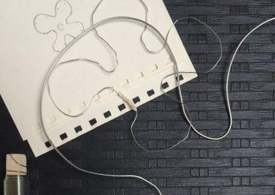 papir og tråd