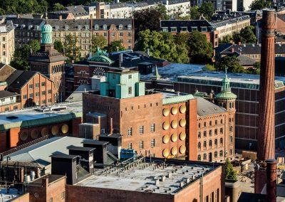 Bygninger i københavn set oppefra