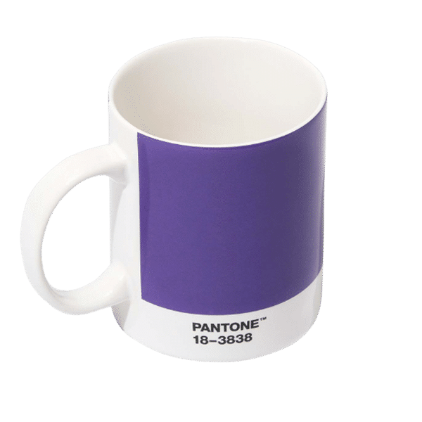 Pantone Mug, 18-3838 Purple