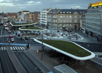 Udsigt over Nørreport station