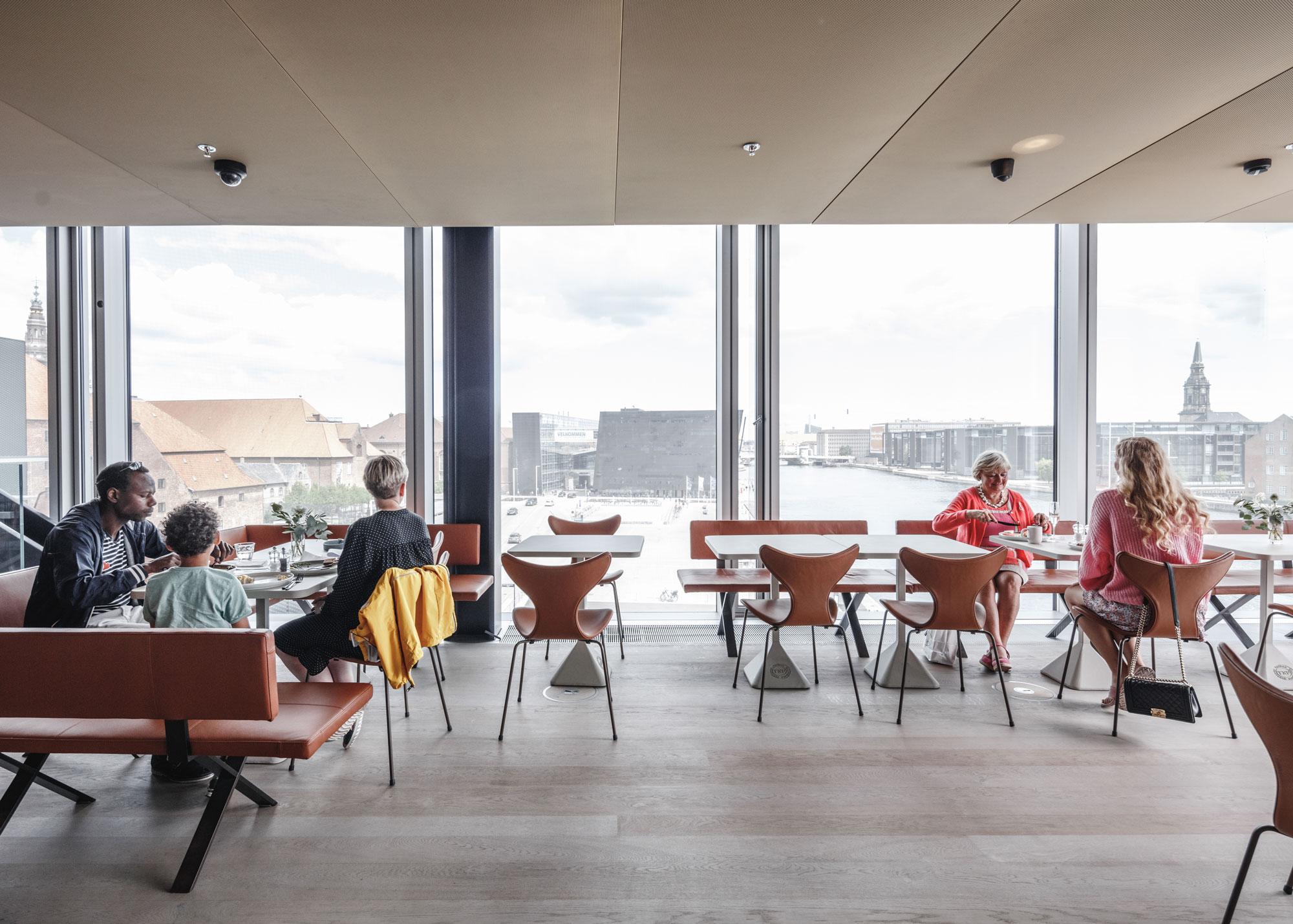 Caféen Dansk Arkitektur Center Dac